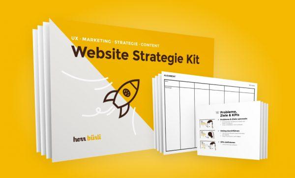 website-strategie-kit-komplett