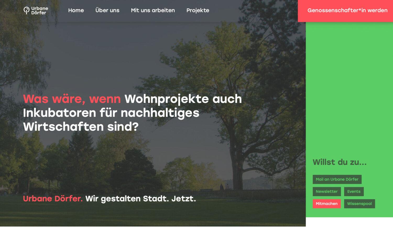 Websites David Eggimann Webstrategie Urbane Doerfer 01